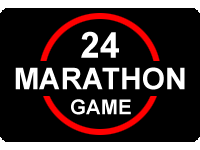24 Game Marathon Logo